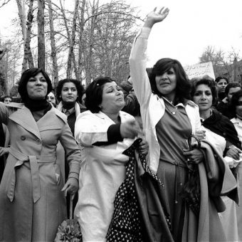 100,000 Iranian Women March Against The Hijab Law In 1979 Tehran