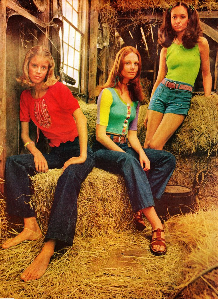 Decade Of Denim Jeans Ads And Fashions From The 1970s