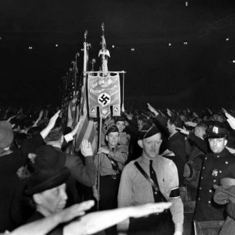 A Night At The Garden: Incredible Footage Of The American Nazi Rally In New York – February 20 1939