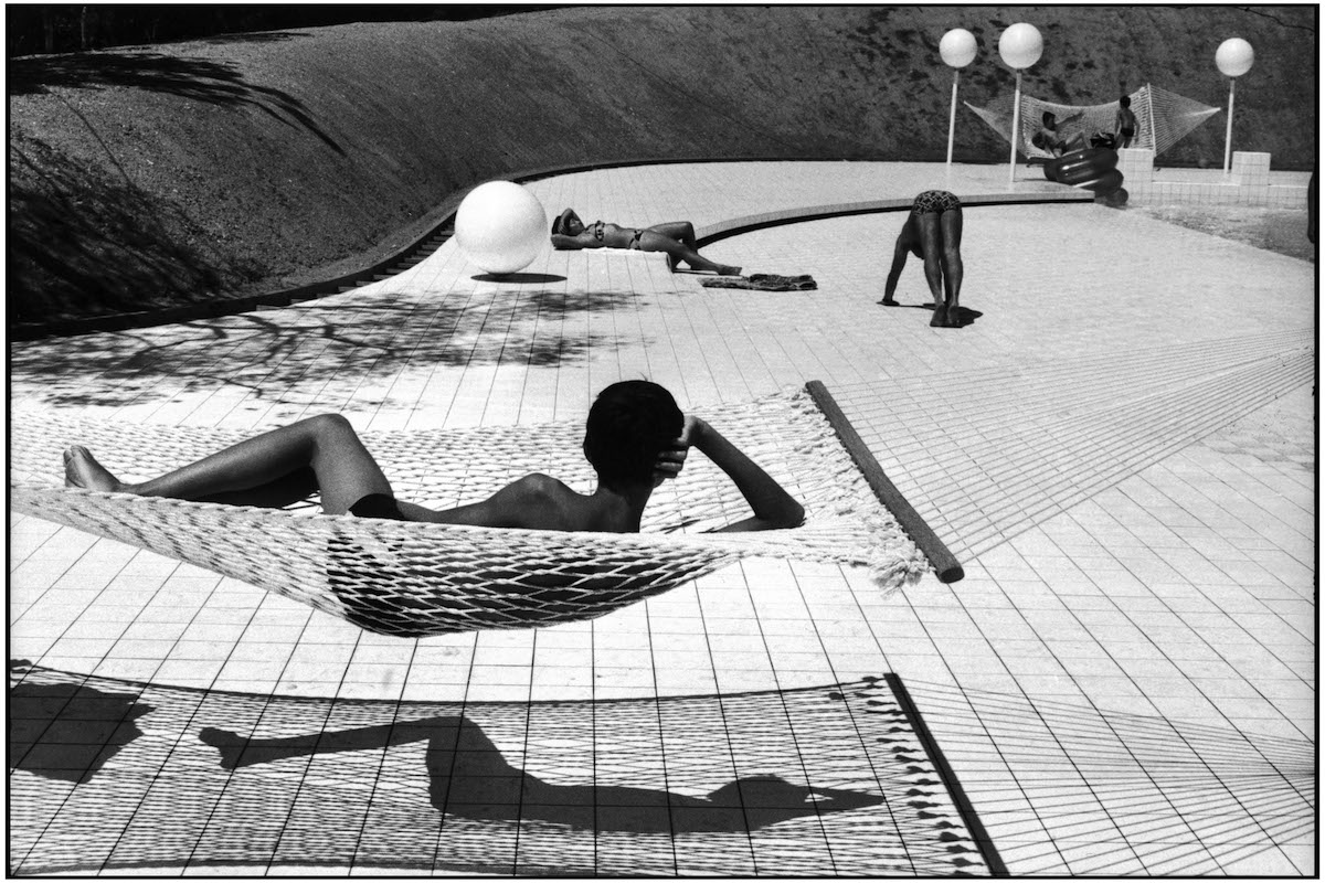 FRANCE. Provence-Alpes-Côte d'Azur region. Town of Le Brusc. 1976. Pool designed by Alain CAPEILLERES.