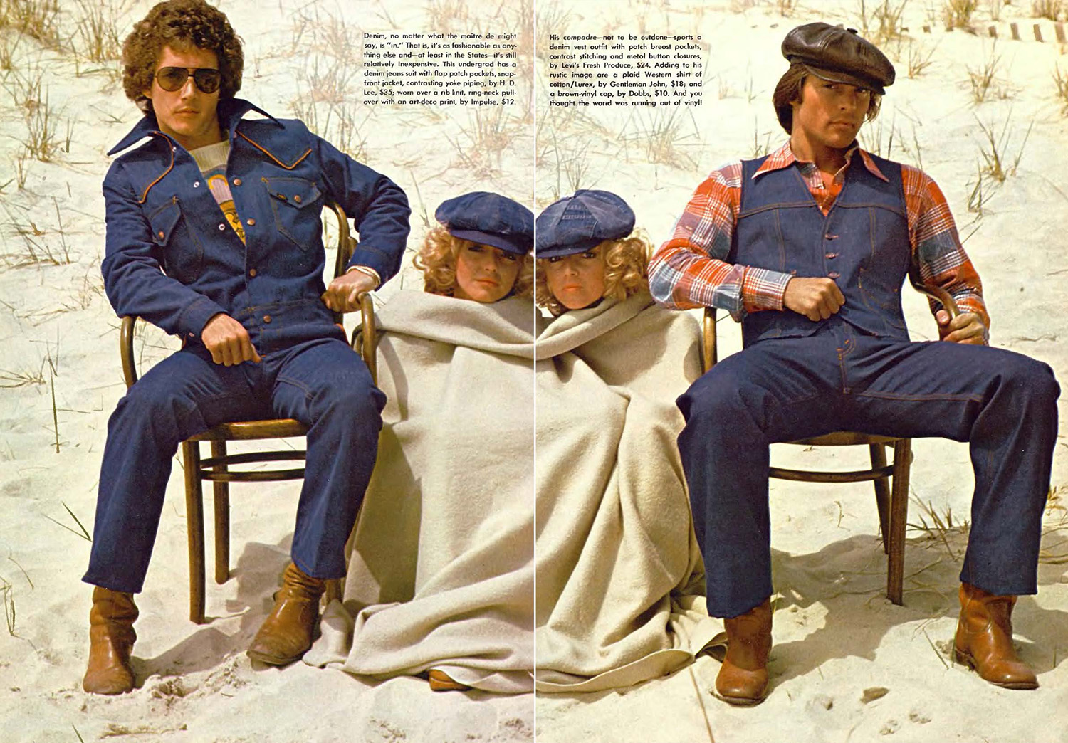Decade Of Denim Jeans Ads And Fashions From The 1970s Flashbak