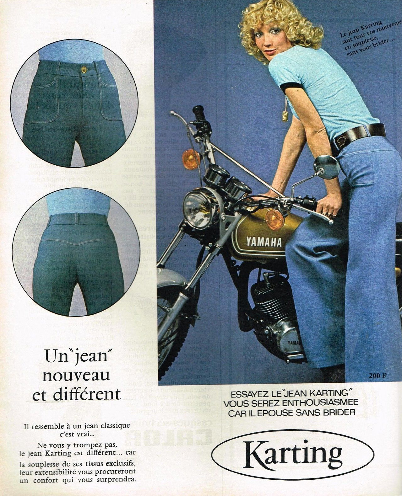 Decade of Denim: Jeans Ads and Fashions from the 1970s