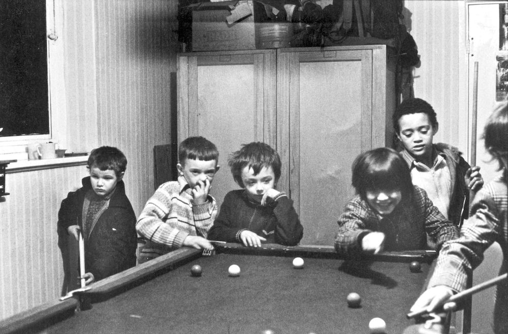 Toxteth, Liverpool, Snooker at Jim Hart's, 1974