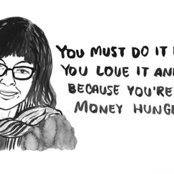 Emmie Tsumura's Illustrations of People Who Want You to Work For Free