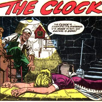 20 Brilliant 1950s Horror Comic Title Panels