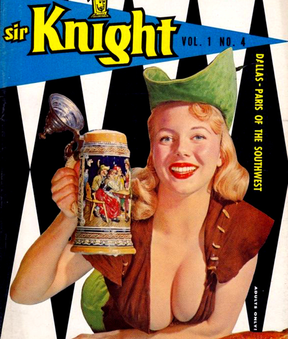 Intoxicating Ladies: 25 Vintage Magazine Cover Girls Having a Drink