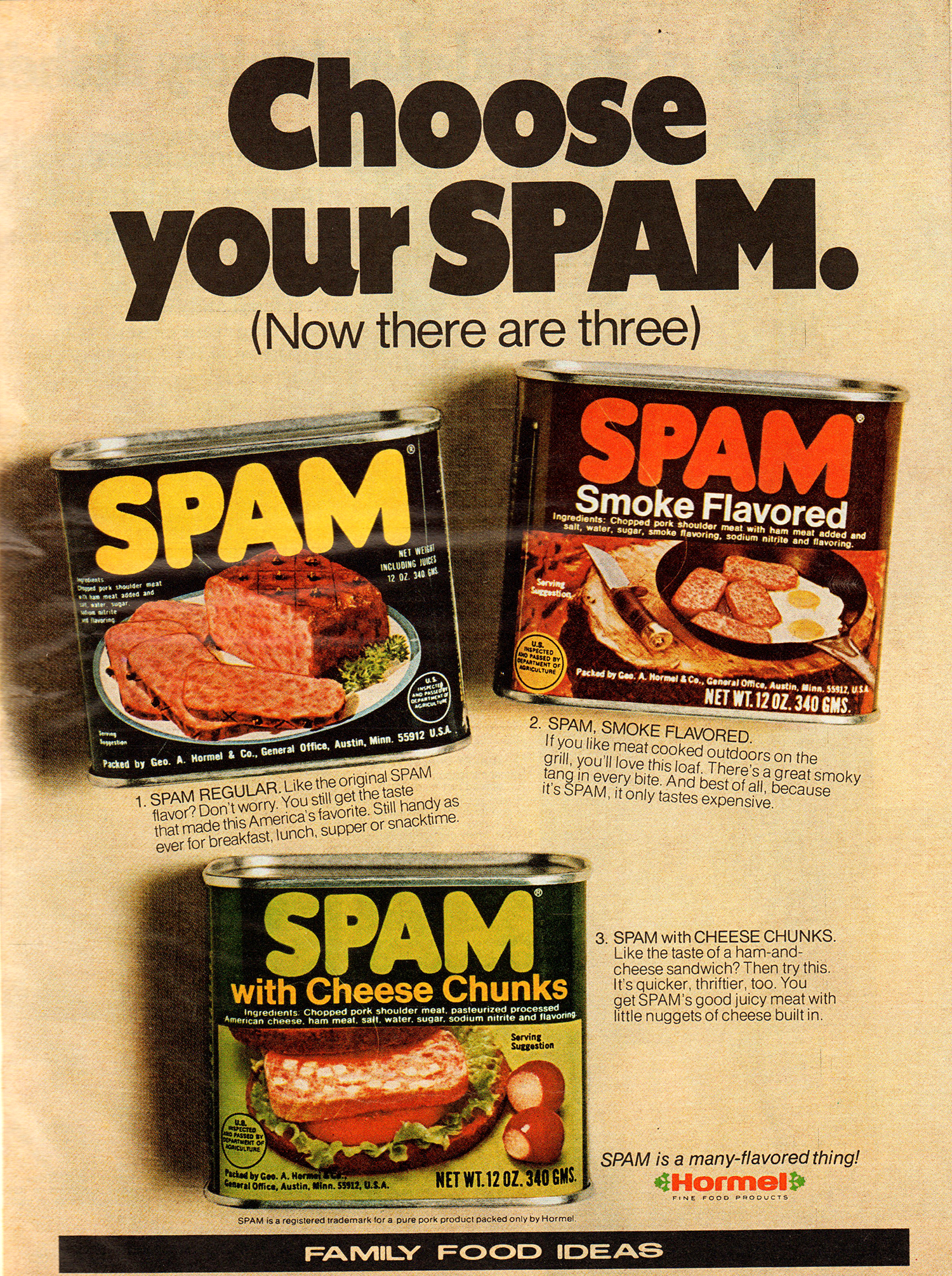 What Does SPAM Mean Hormel Claims That The Meaning Of Name Is Known By Only A Small Circle Former Foods Executives
