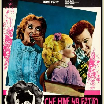 Lurid Italian Lobbycards For 'What Ever Happened to Baby Jane?'