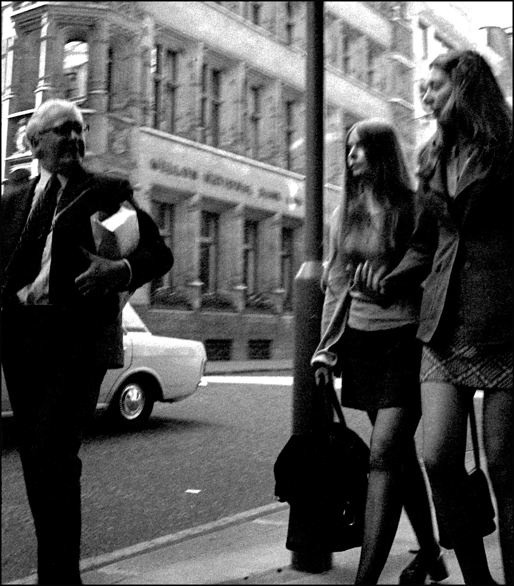 London In 1973, In All Its Grainy Black And White Glory