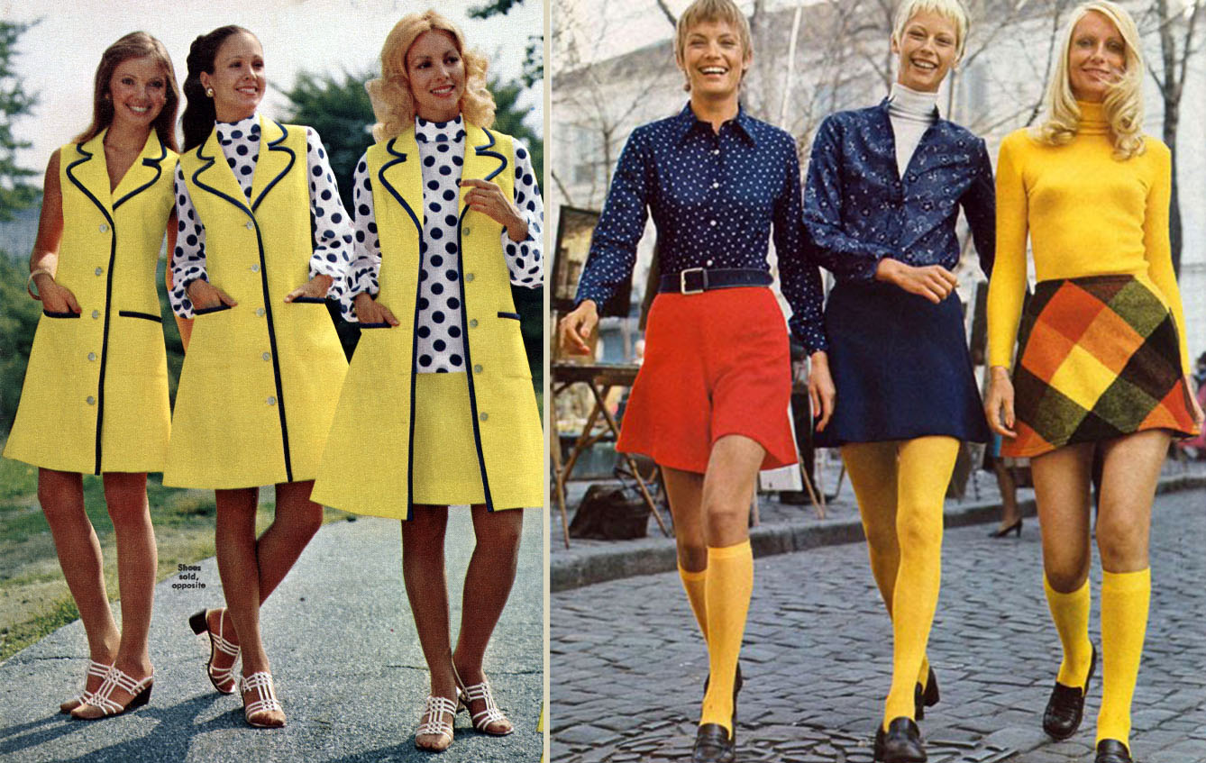 women  teen fashions 1972 defining the seventies style