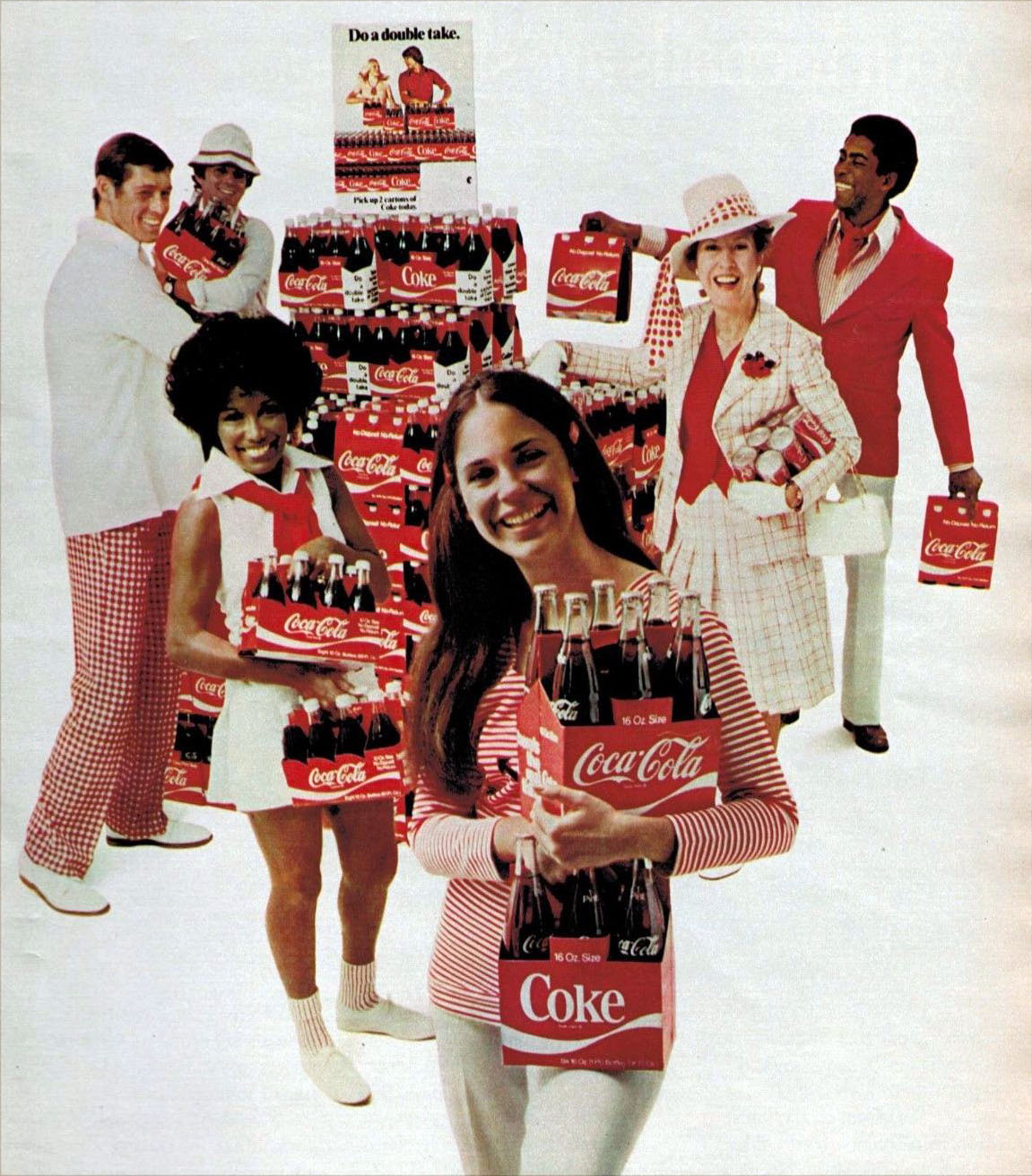 Soda Yesteryear: People & Their Soft Drinks (1960s-70s
