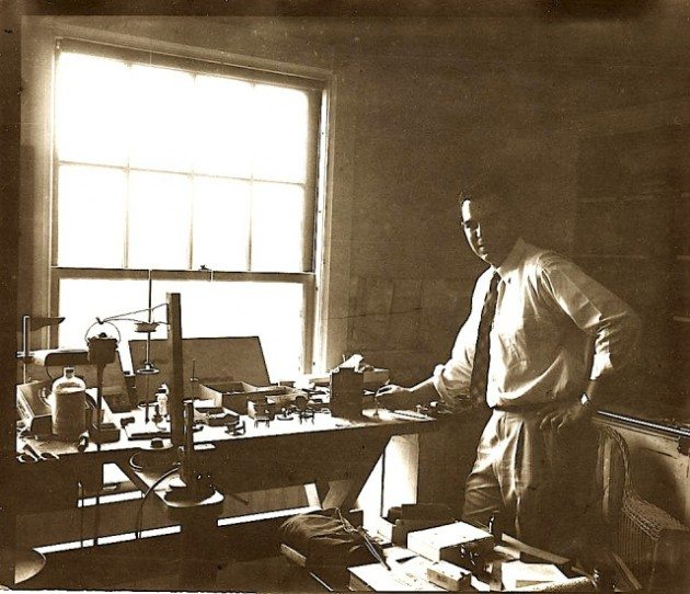 Lee's Carpenter, Alton Mosher. Photo courtesy of the Harvard Associates in Legal Medicine
