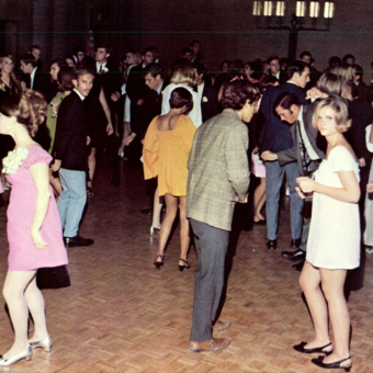 College Dance Days: 25 Photos from 1968-1971