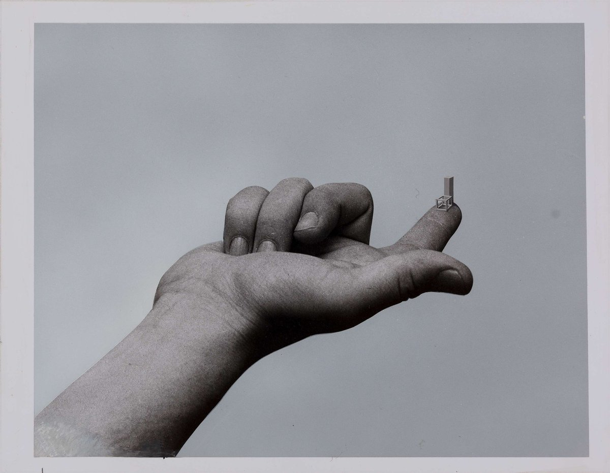 Derek Boshier (1937), 16 Situations- 2. Finger, 1971
