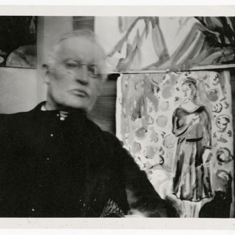 Edvard Munch's Experimental Selfies
