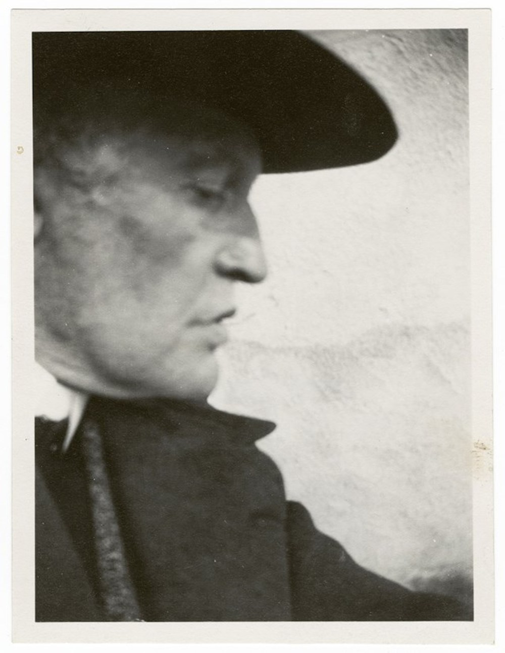 Edvard Munch, Self-Portrait in a Hat in Pro le Facing Right, 1930