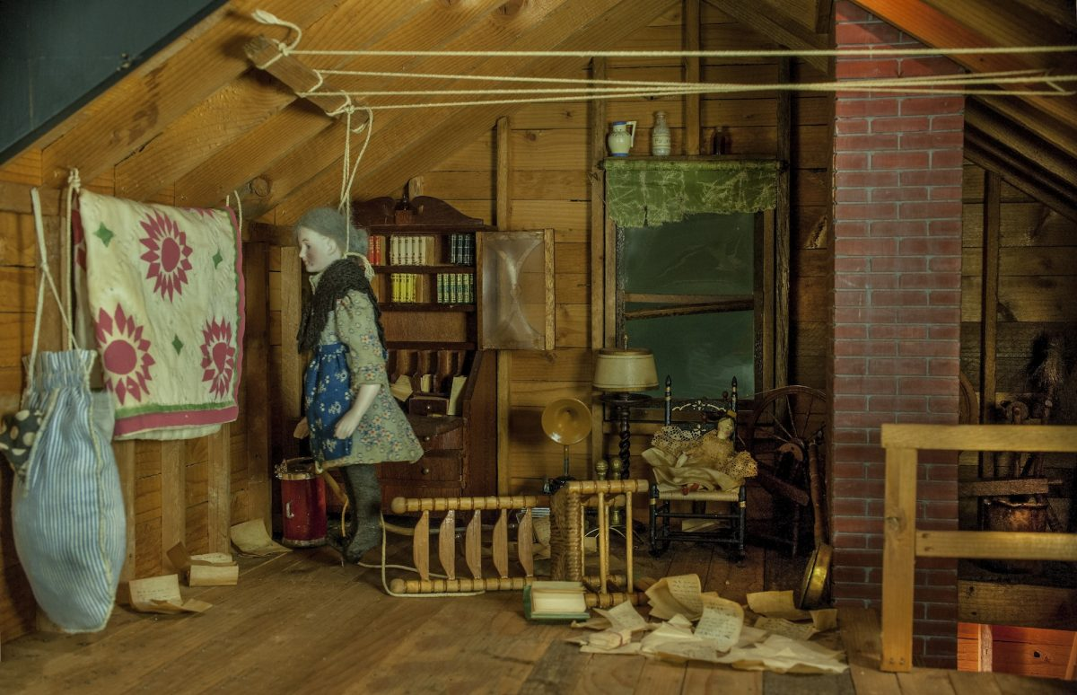 Frances Glessner Lee, Attic, about 1946-48