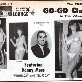 Cocktails & Striptease: Vintage Burlesque Show Ads