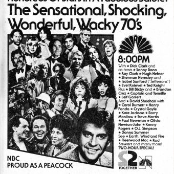 Celebrity TV Specials of the 1970s