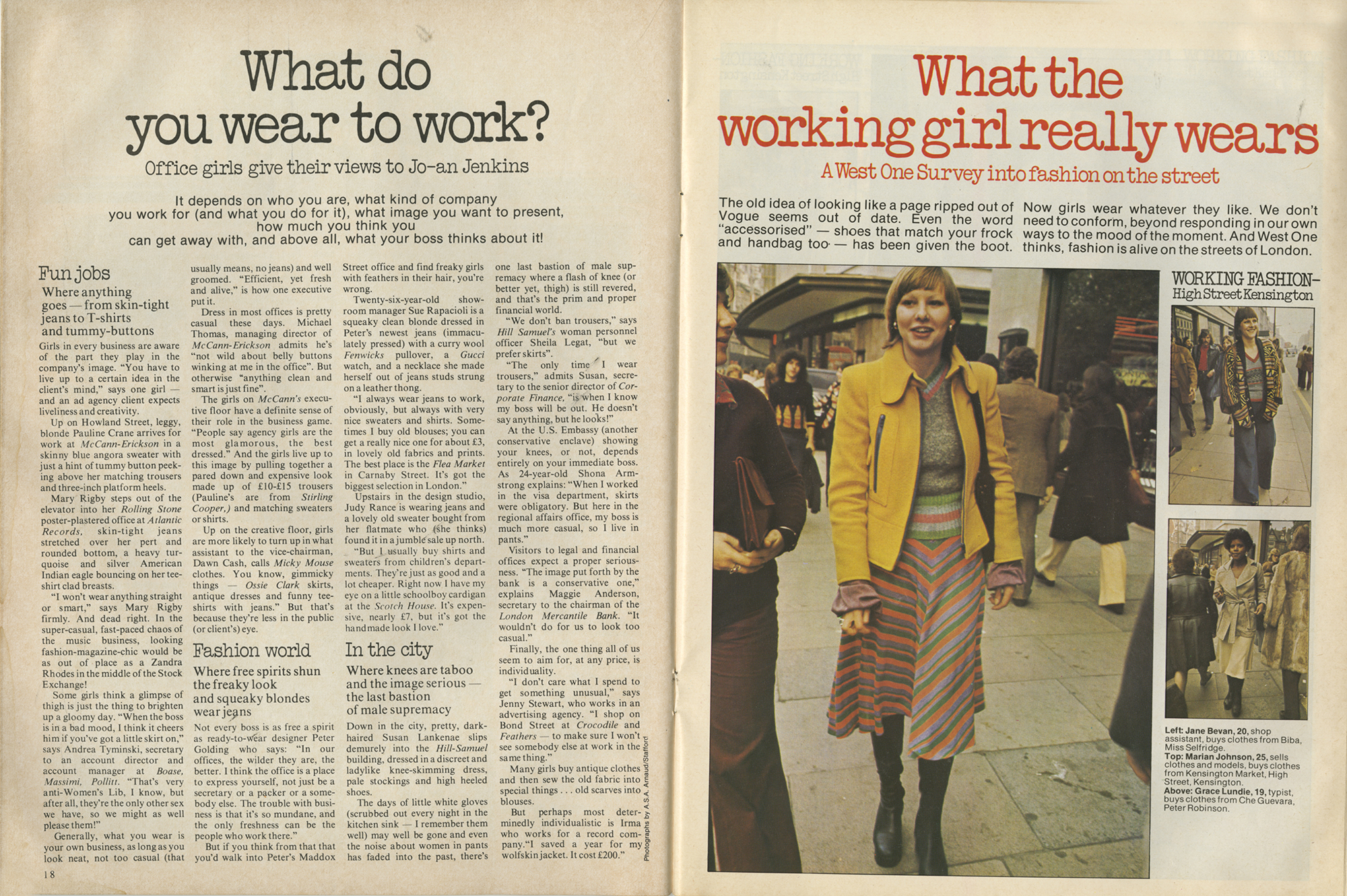 West One magazine december 7 1973