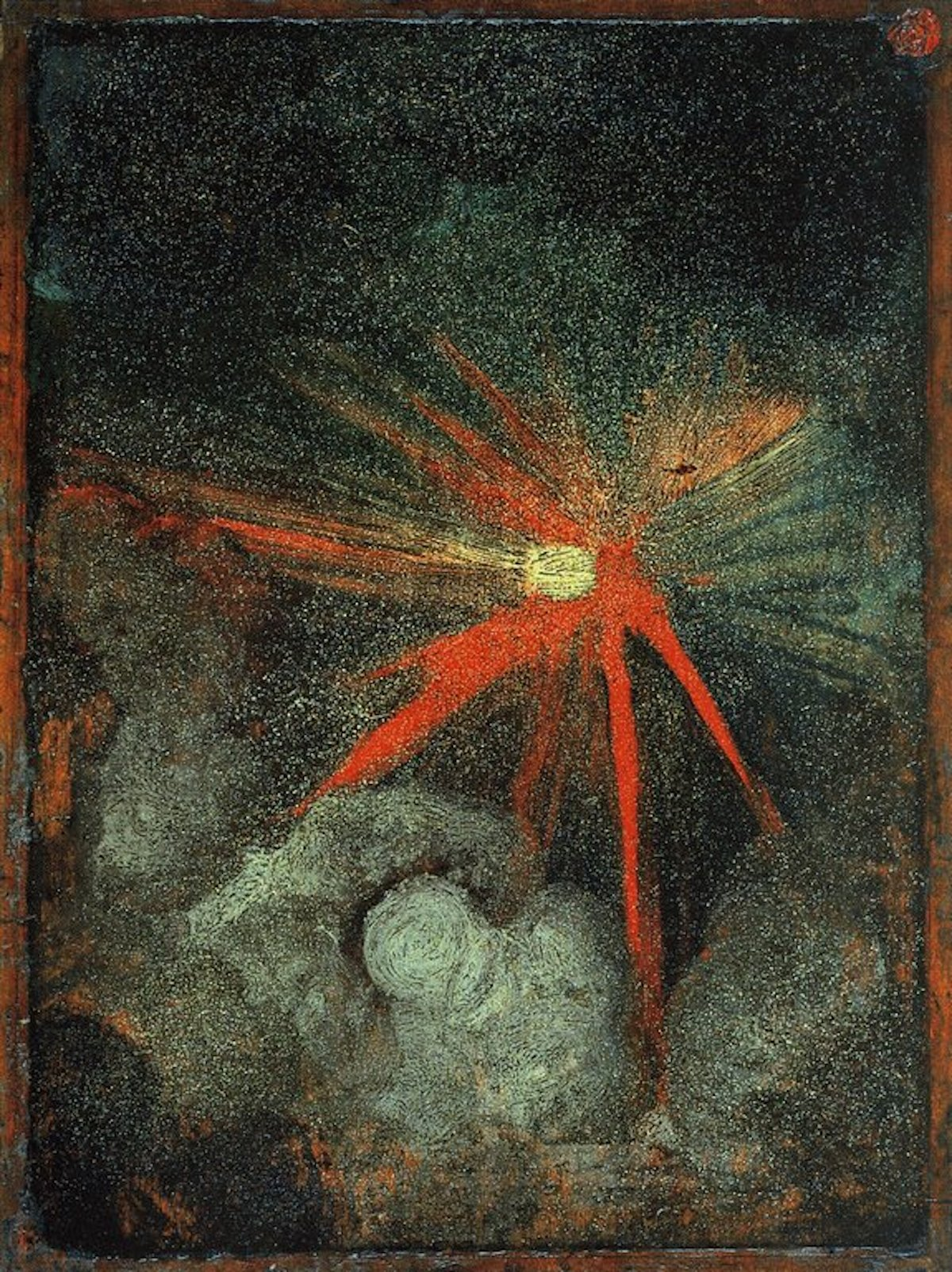advent 10 Heavenly Body in the Night Sky - Albrecht Dürer, c. 1497