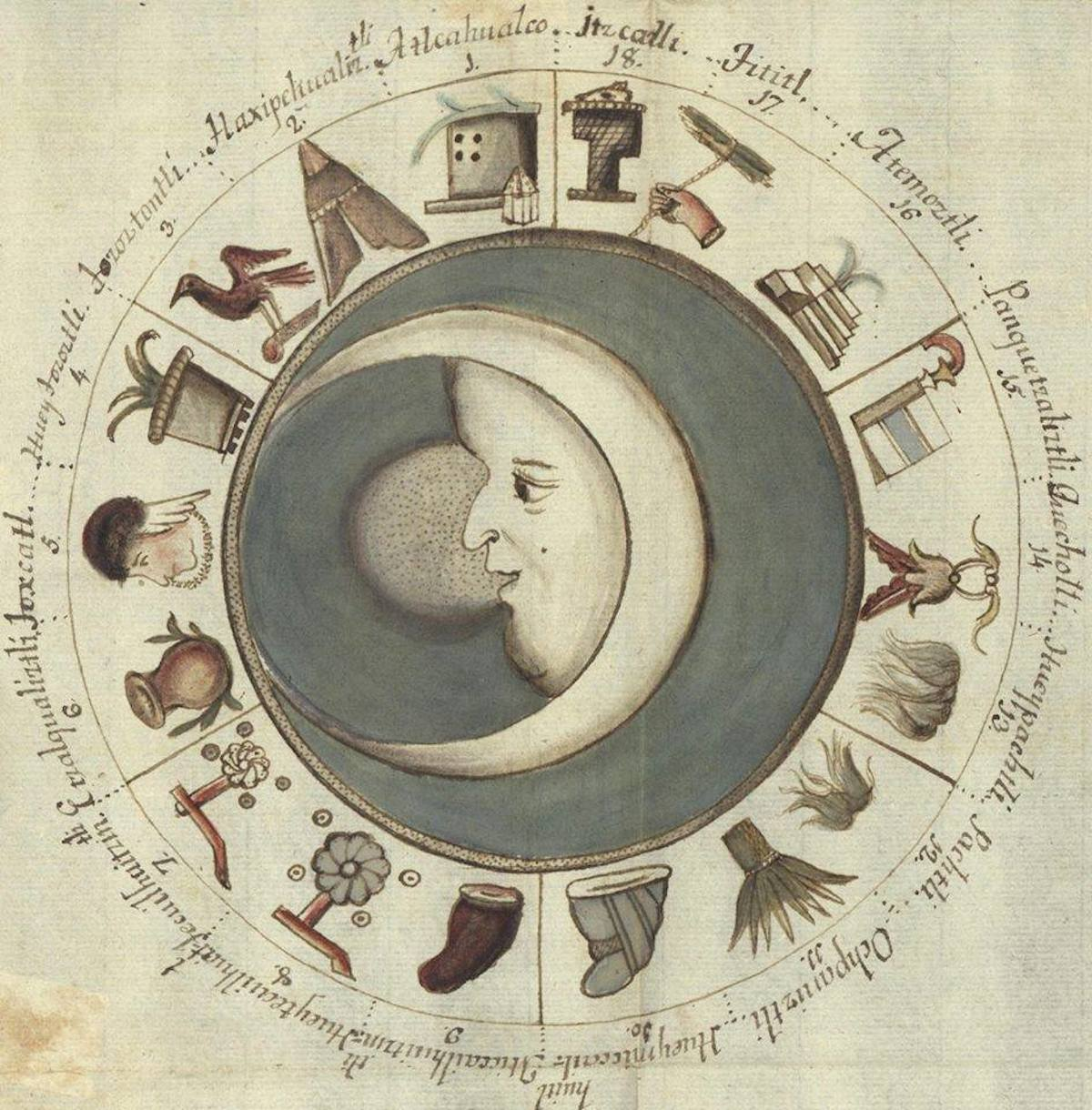 advent 12 Antonio de León y Gama, (Mexican, 1735 - 1802)