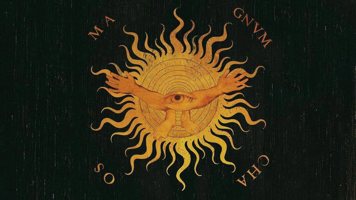 advent 13 Giovan Francesco Capoferri, intarsia panel in Sta. Maria Maggiore, Bergamo, depicting the universe emerging from primordial darkness - design by Lorenzo Lotto, 1524