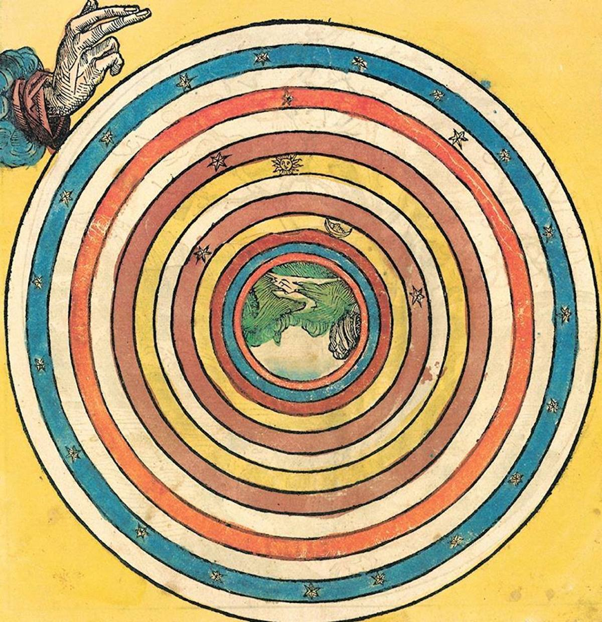 advent 15 Hartmann Schedel. Creation, from 'Chronicle of the World', Nuremberg, 1493
