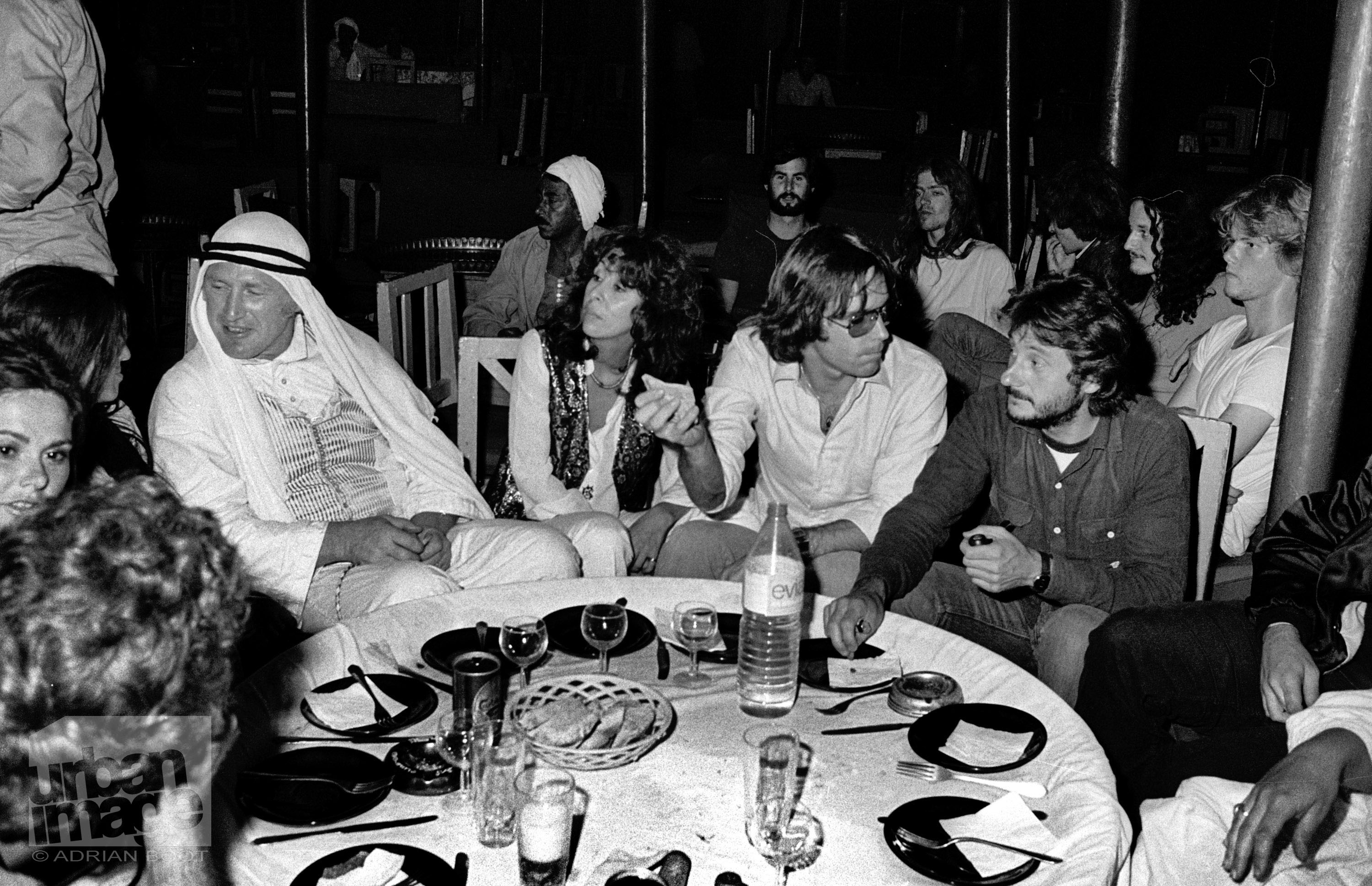 The Grateful Dead – backstage party - Egypt 1978