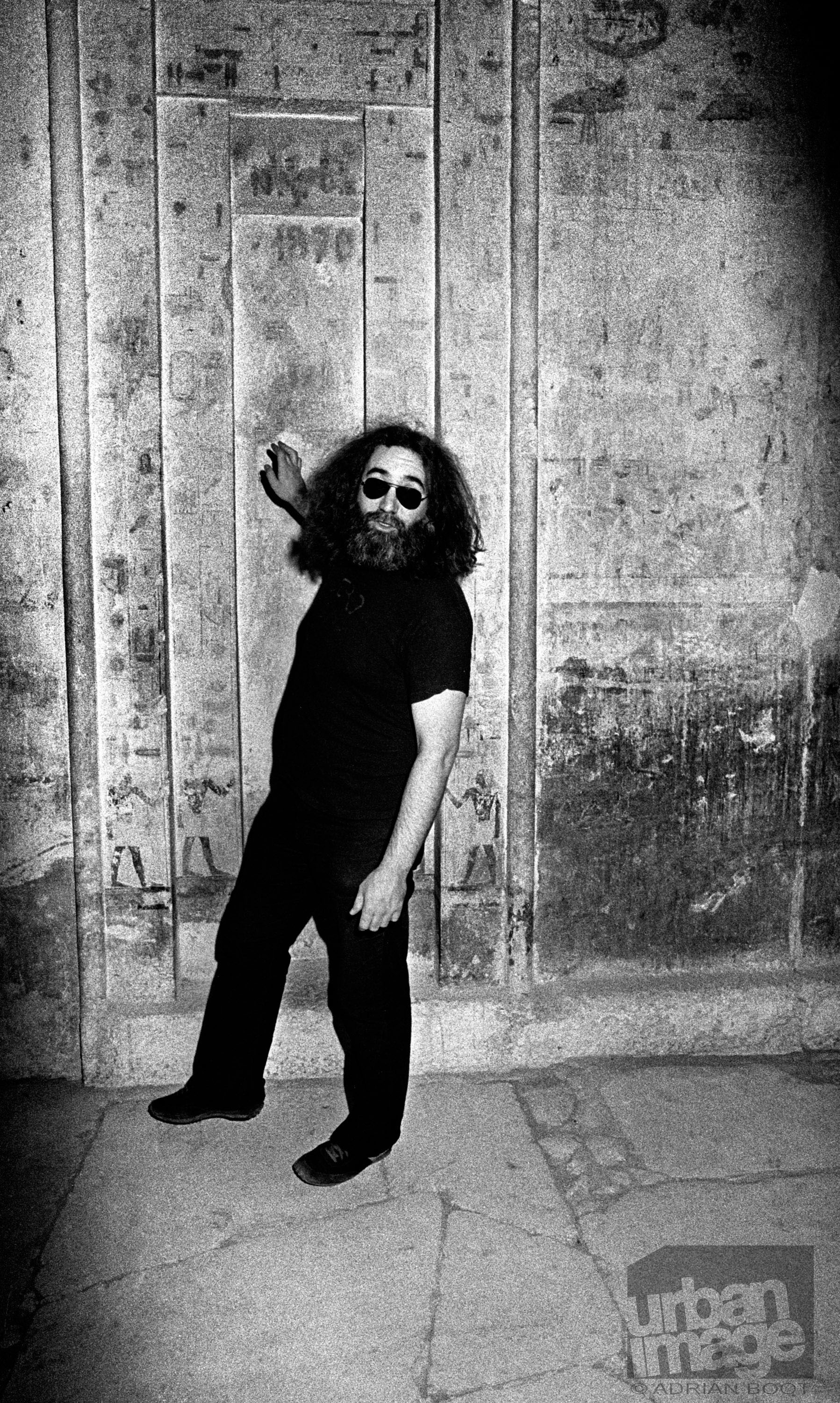 Jerry Garcia - The Grateful Dead – Egypt 1978