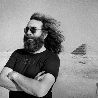 The Grateful Dead Levitate Egypt's Pyramids Under A Lunar Eclipse (1978)