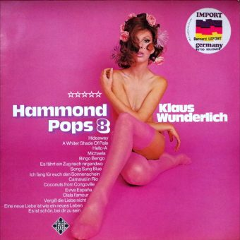 Hammond Fever!  Vintage Sexy Hammond Organ Album Covers