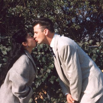 Kazuko and Wayne: A Japanese-American Romance Taken Between Dec 1955 and January 1957