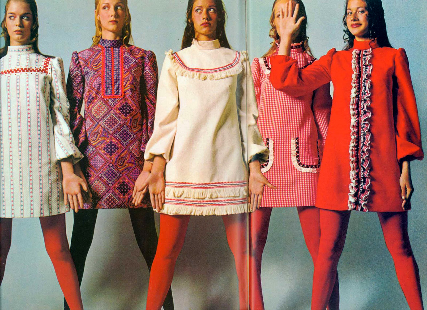 Women & Teen Fashions 1972: Defining the Seventies Style ...