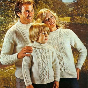 Swingin' Sweater Families of the Sixties