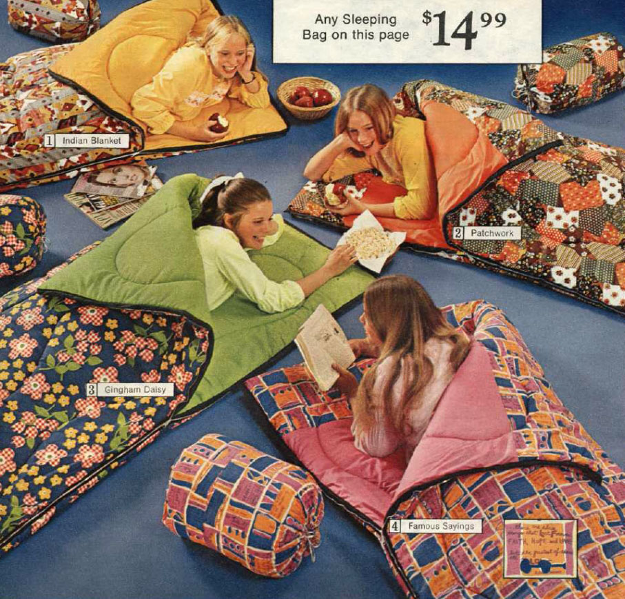 Two Decades Of Sleeping Bag Evolution From Peter Max To