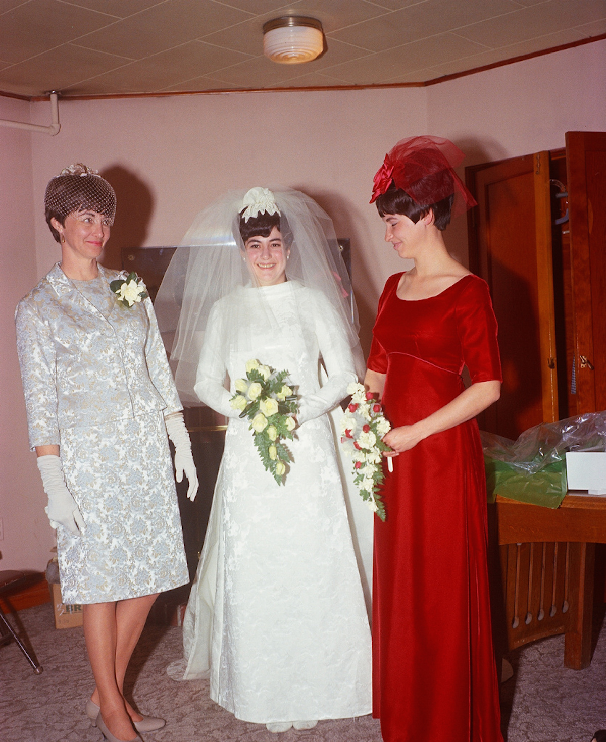 wedding iowa 1968