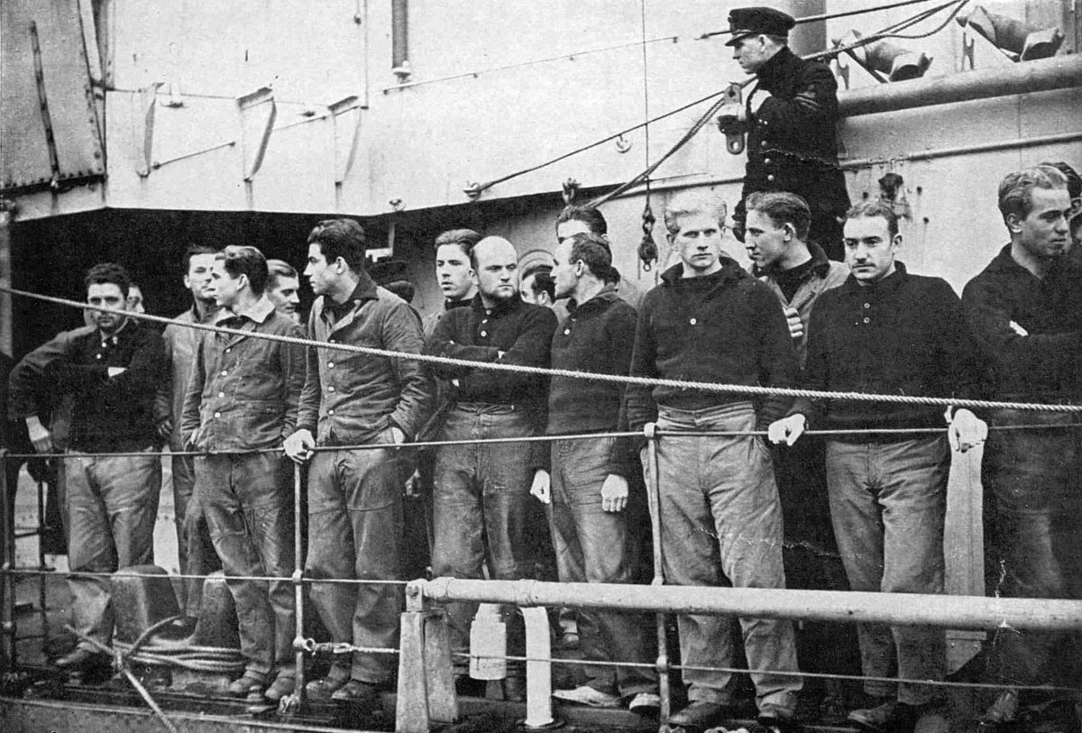 Captured U-Boat 35 Crew