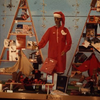 Christmas Window Displays in Newcastle upon Tyne and South Shields (1960s)