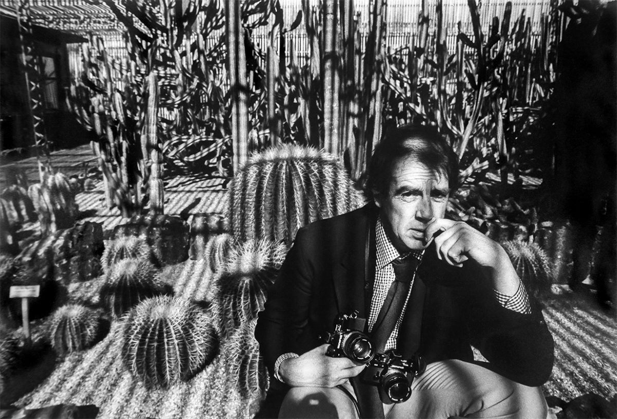 Arizona USA David Hurn, National Desert Botanical Garden inside a cactus house. Phoenix, 1980