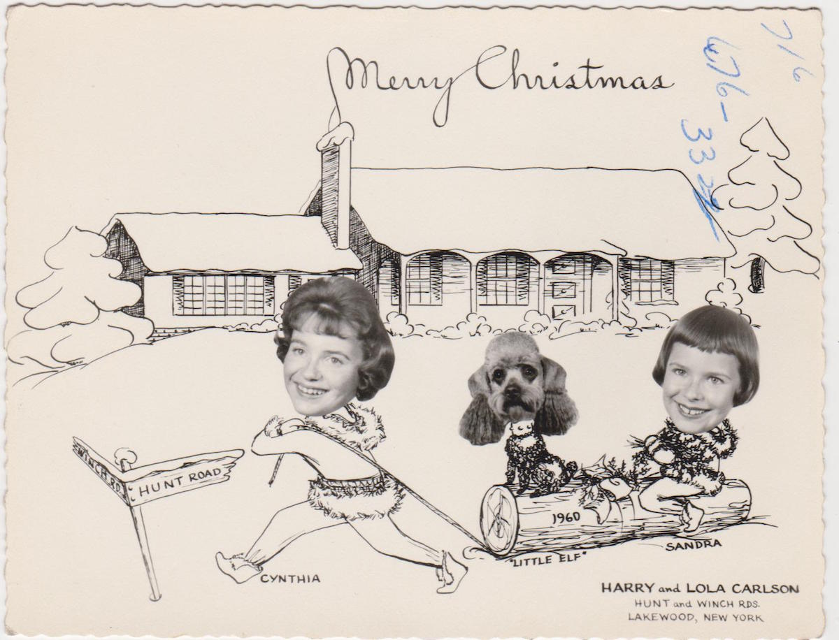 Family Pets In Holiday Greeting Cards 13 Flashbak