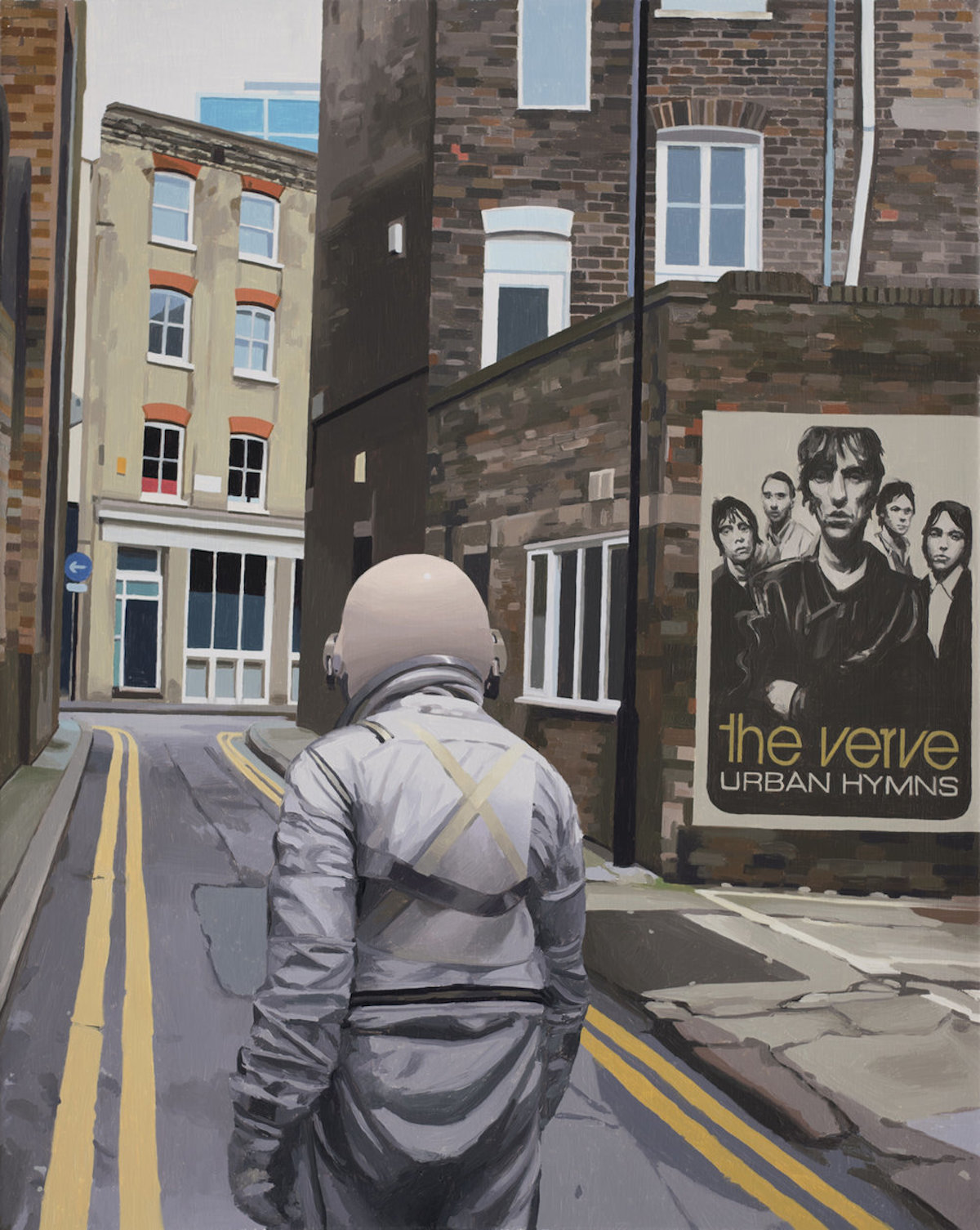 the verve london SCOTT LISTFIELD ASTRONAUTDINOSAUR paintings