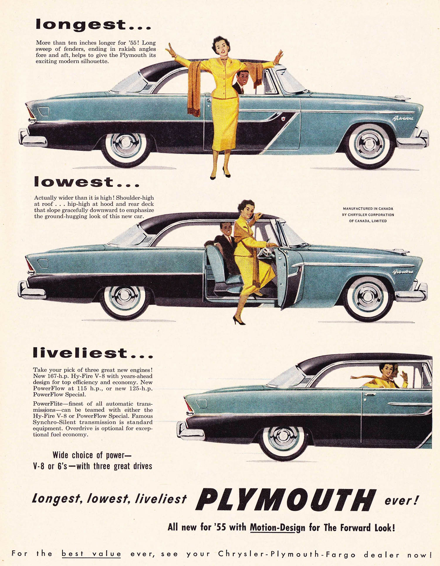 Advertising 1955 30 Brilliant Ads From Mid Century Canada Flashbak Chrysler Wiring Gramp Tweaked His Moustache And Puffed Up Chest You Can Buy Adequate On Time Payments Through Any Electrical Contractor