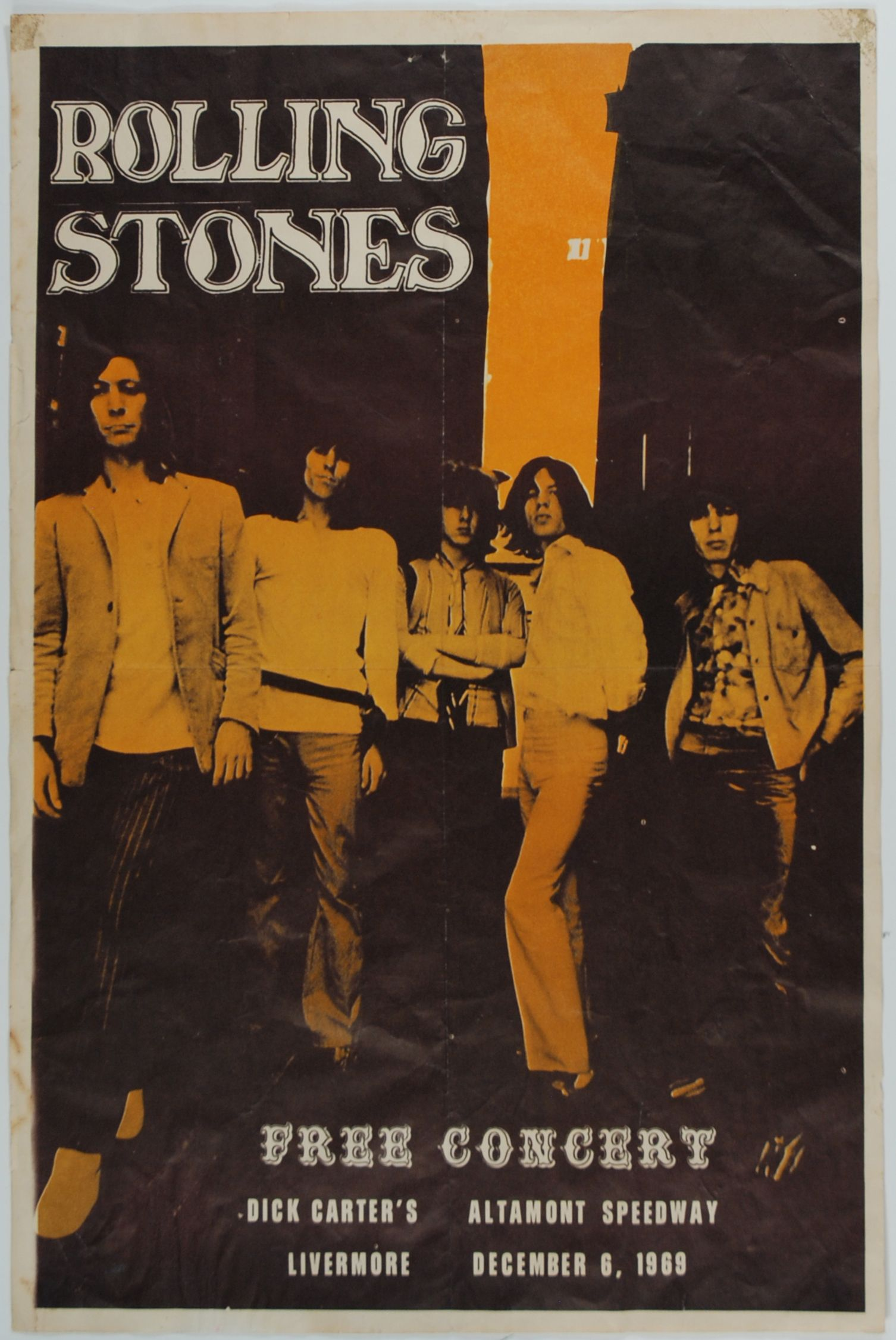 Fifty Years Of Rolling Stones Tour Posters Flashbak