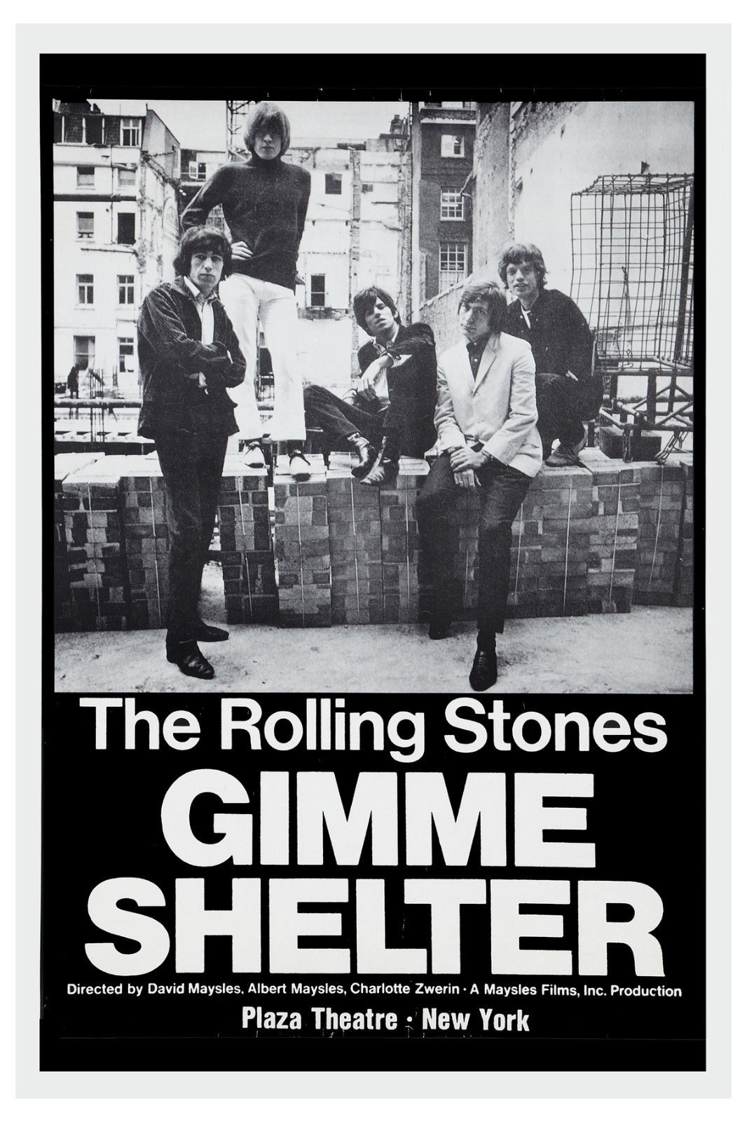 Fifty Years of Rolling Stones Tour Posters - Flashbak