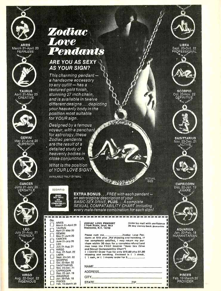 What's Your Sign? A Look at the 1970s Zodiac Fad - Flashbak
