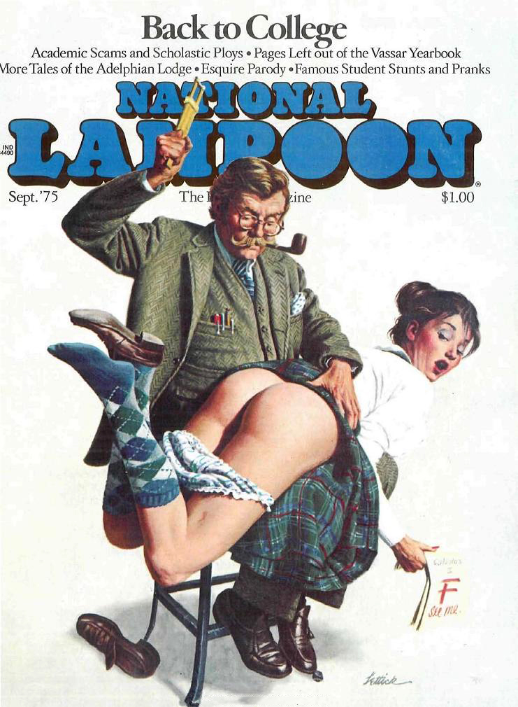 27 Brilliant National Lampoon Covers from the 1970s - Flashbak