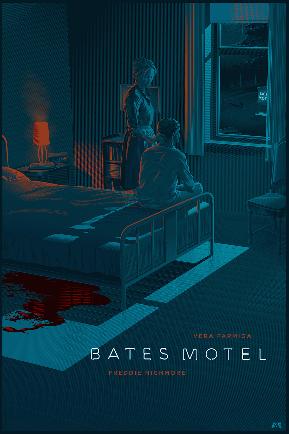 Retro-Futuristic World of Laurent Durieux norman Bates Pyscho