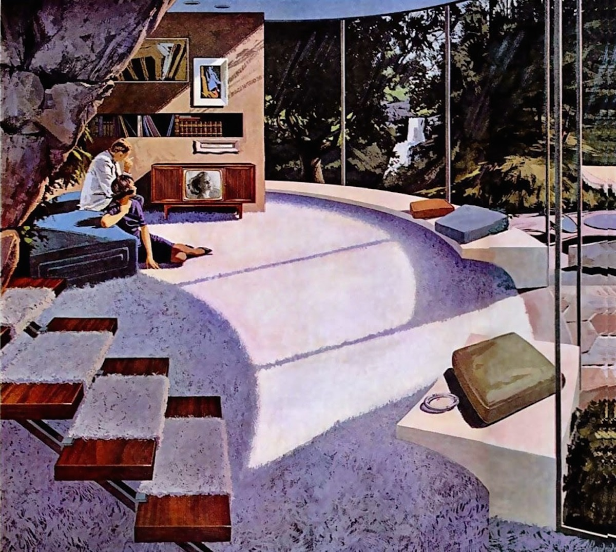 The House Of The Future Charles Schridde S Stunning 1960s