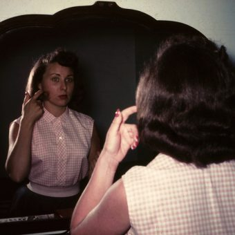 Photos of a Woman Named Elsie Bolcar from New Jersey in 1954
